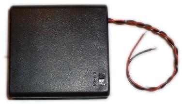 4AA Battery Holder W/Switch