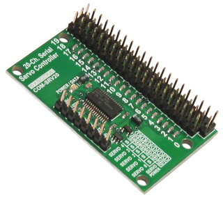 20-Channel Serial Servo Controller