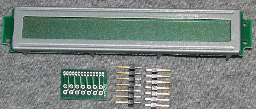 Wintek WD-C2401-P 24x1 LCD Display No Backlight