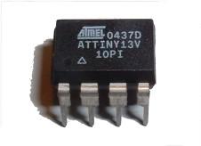 Atmel ATTINY13V-10P MCU