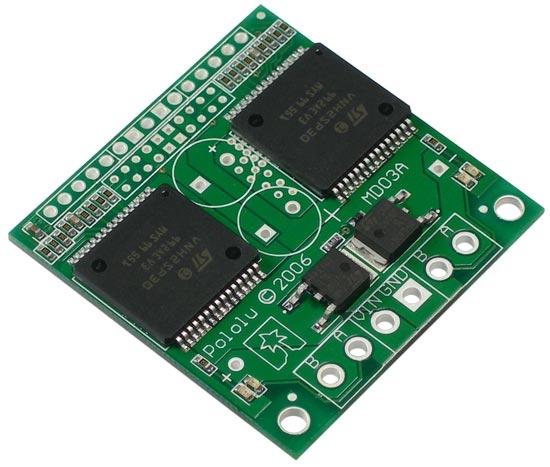 Pololu Dual High Current Motor Controller
